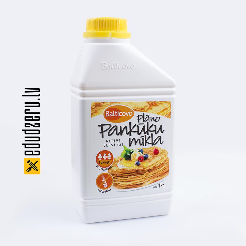 Balticovo plāno pankūku mīkla bez glutēna